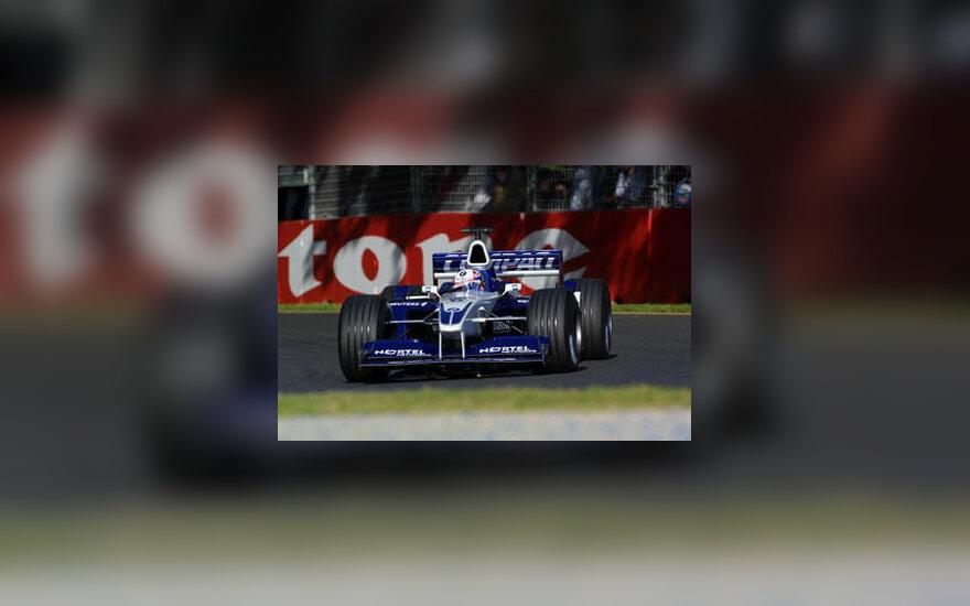 """""""Williams BMW"""" bolidas"""