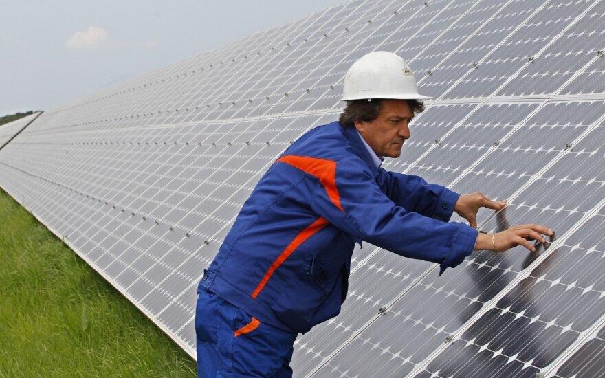 Saulės jėgainės