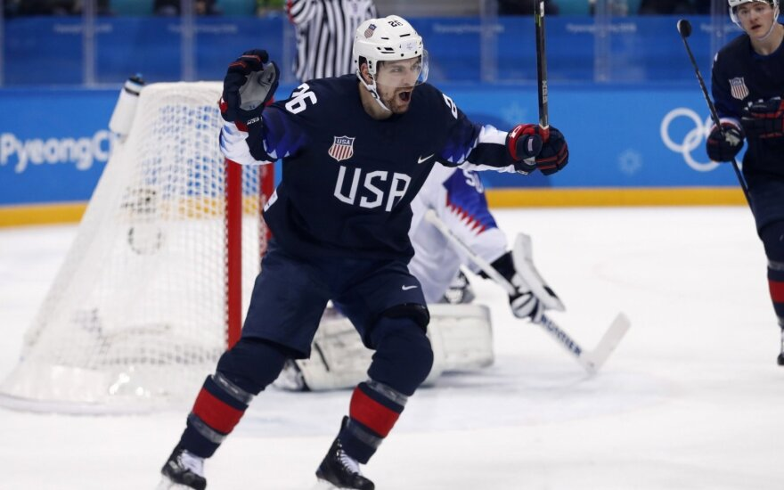 Pjongčango olimpiada: ledo ritulio dvikova – JAV ir Slovakija
