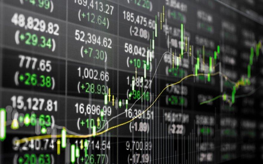 """""""Biržos laikmatis"""": akcijų rinkoje atokvėpis, doleris sustiprėjo išaugus obligacijų pajamingumams"""
