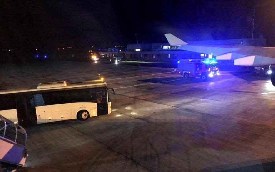 Dar viena lėktuvo nesėkmė: Merkel teks vėluoti į G-20 susitikimą