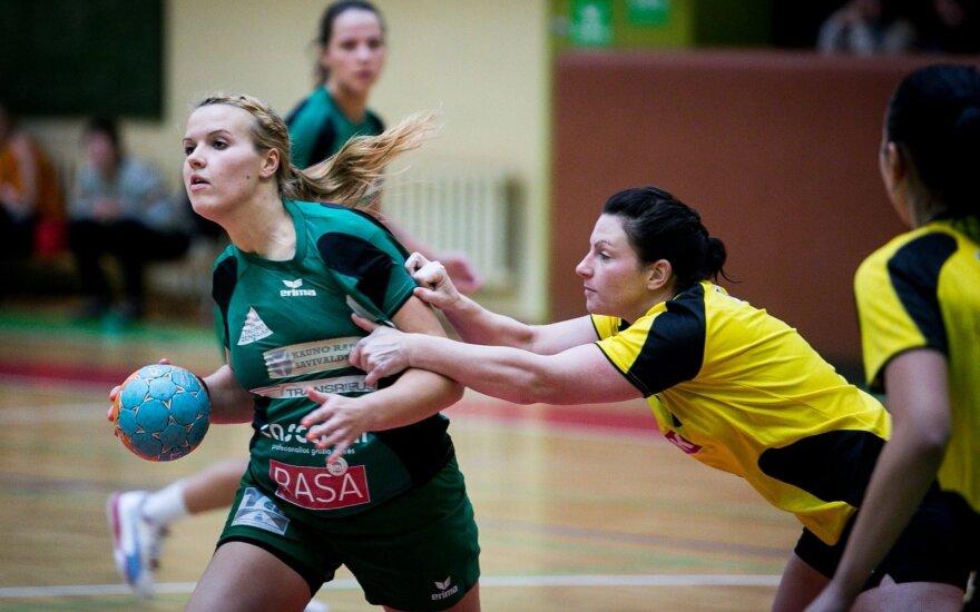 Lietuvos moterų rankinio čempionato starte – Garliavos ekipos pergalė
