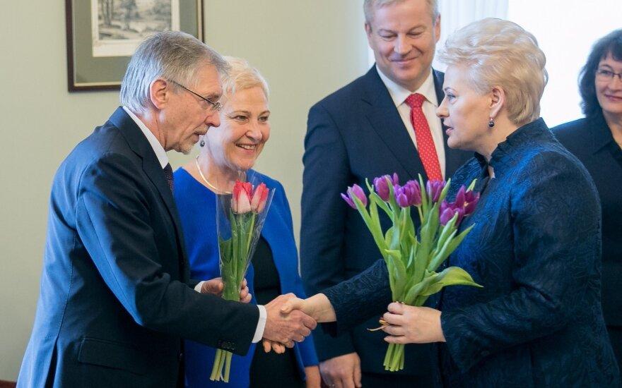Gediminas Kirkilas, Irena Degutienė, Mindaugas Bastys, Dalia Grybauskaitė