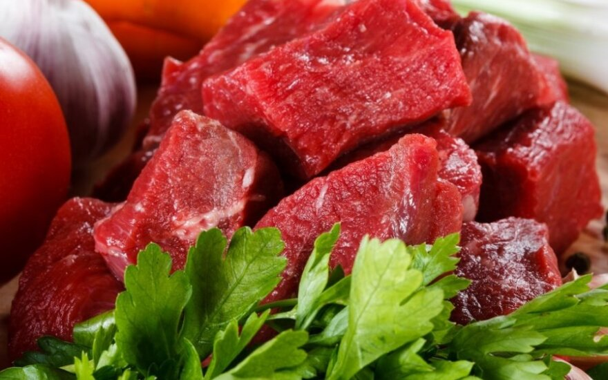 Japanese delegation inspects Lithuanian beef quality