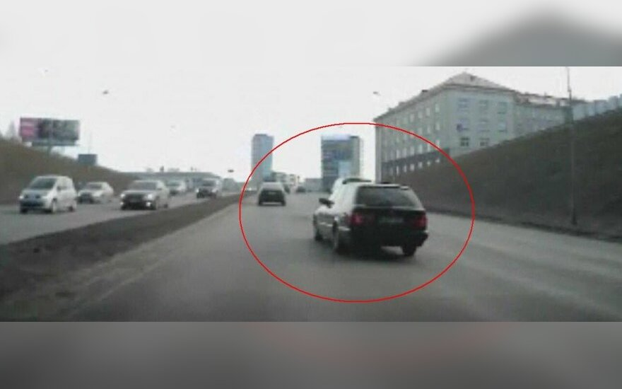 BMW KET pažeidėjas