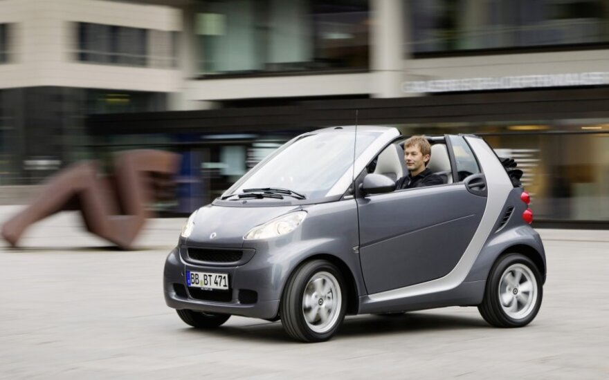 Smart Fortwo Pearl Grey