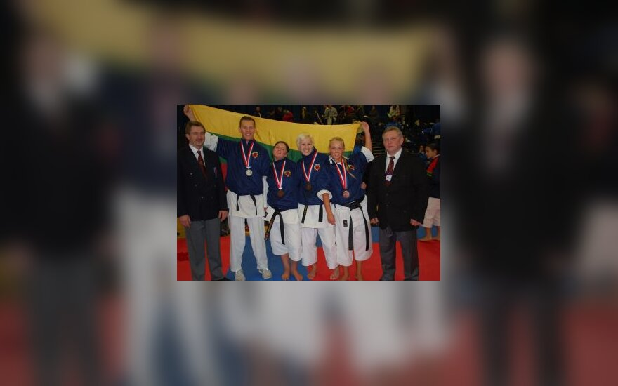 Europos šotokan karatė čempionate - 3 lietuvių medaliai