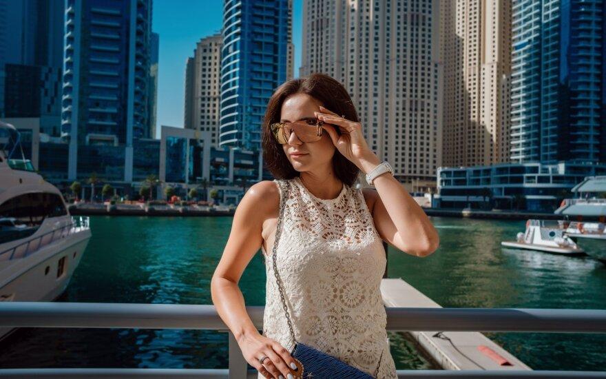 Moteris Dubajuje gyvena trečius metus.