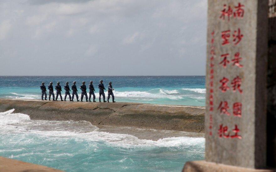 Kinija Spratlio salose dislokavo raketas