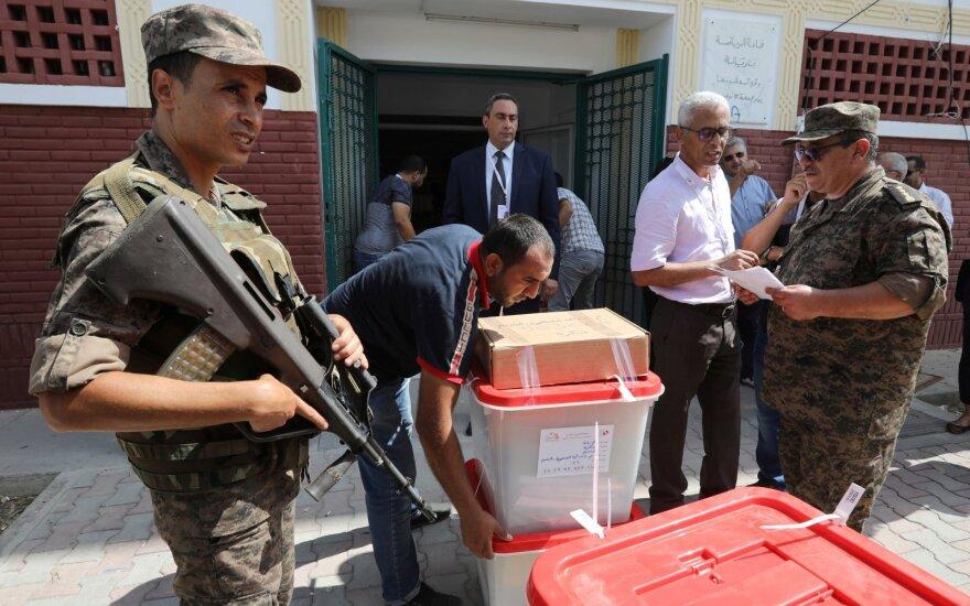 Tunisė vyksta rinkimai