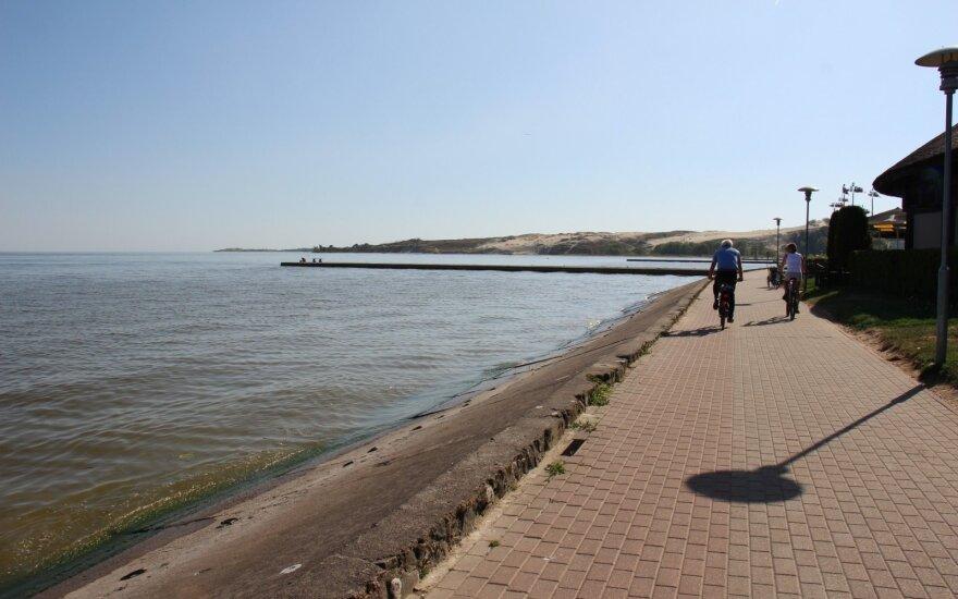 Nidoje – naujas paplūdimys