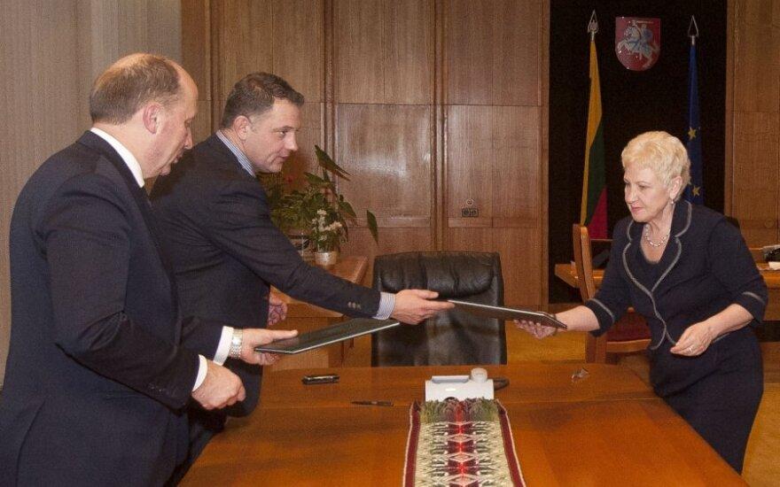 Andrius Kubilius, Eligijus Masiulis, Irena Degutienė