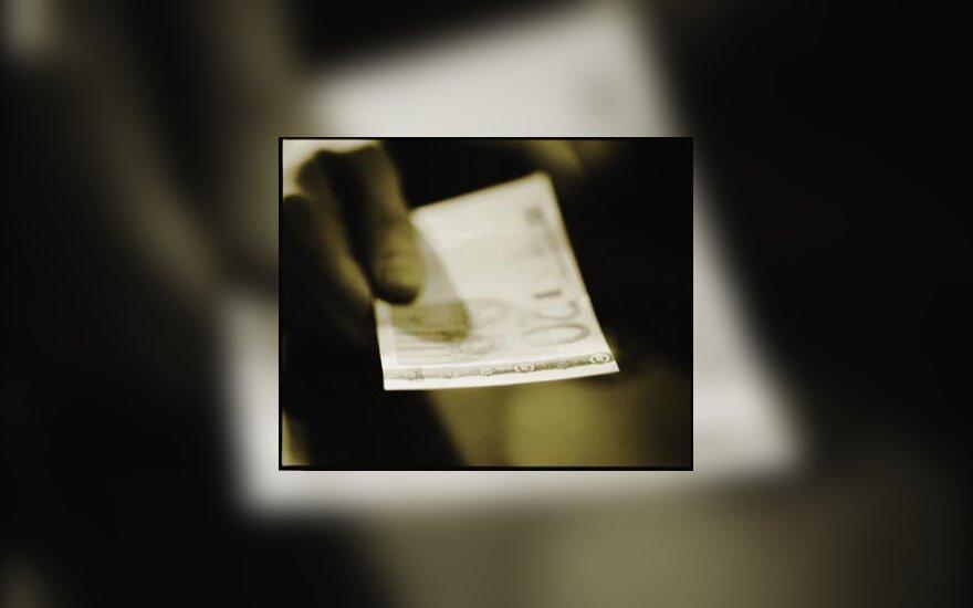 Eurai, pinigai, ES, verslas, duoti, atlyginimas