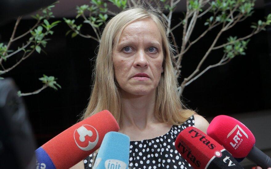 Eglė Kručinskienė teisme