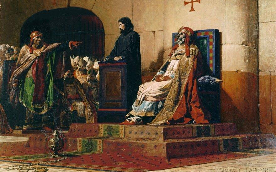 7 blogiausi popiežiai: mirusiųjų teismai, kraujomaiša ir prekyba sostu