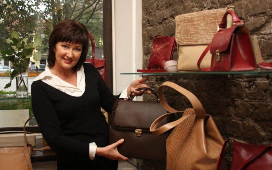 Rankinių dizainerė Irena Serapinienė