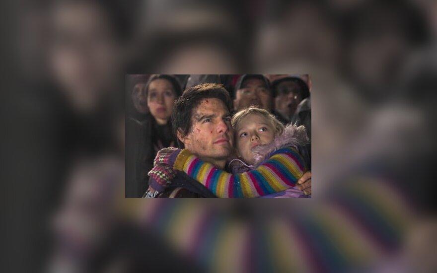 """""""Pasaulių karas"""", Tom Cruise"""