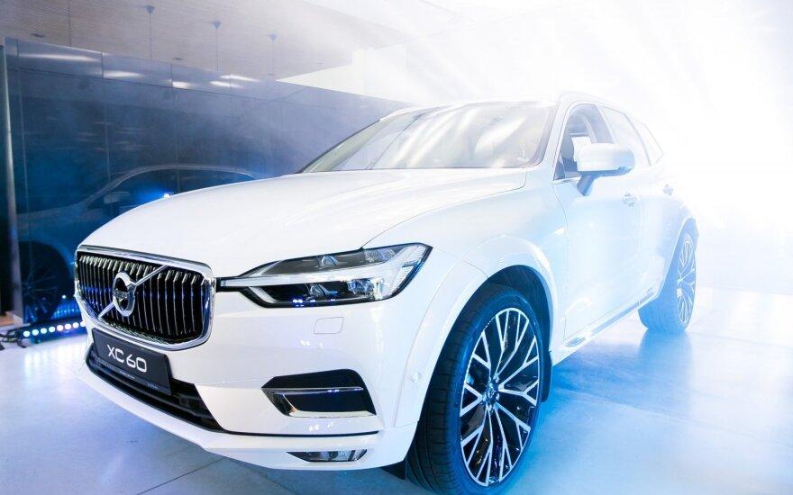 """Naujojo """"Volvo XC60"""" pristatymas"""
