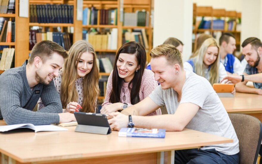 Klaipėdos valstybinės kolegijos studentai