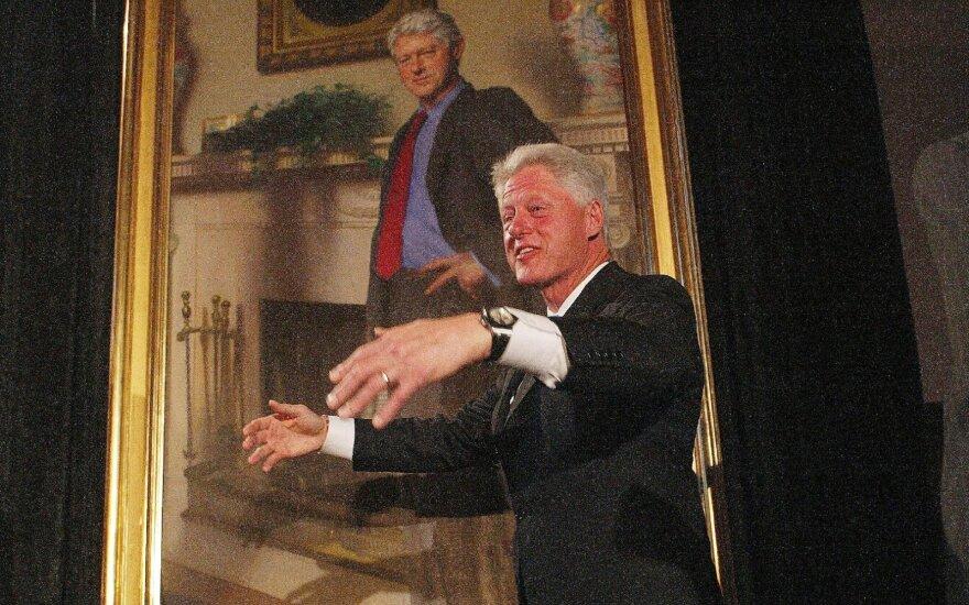 Billo Clintono portretas