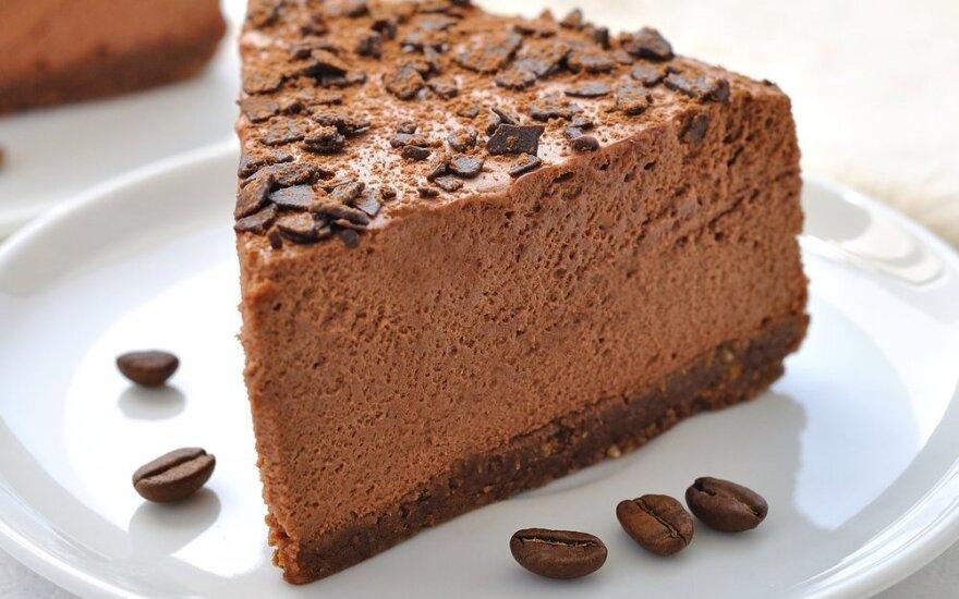 Greitas ir fantastiškai skanus šokoladinis sūrio pyragas