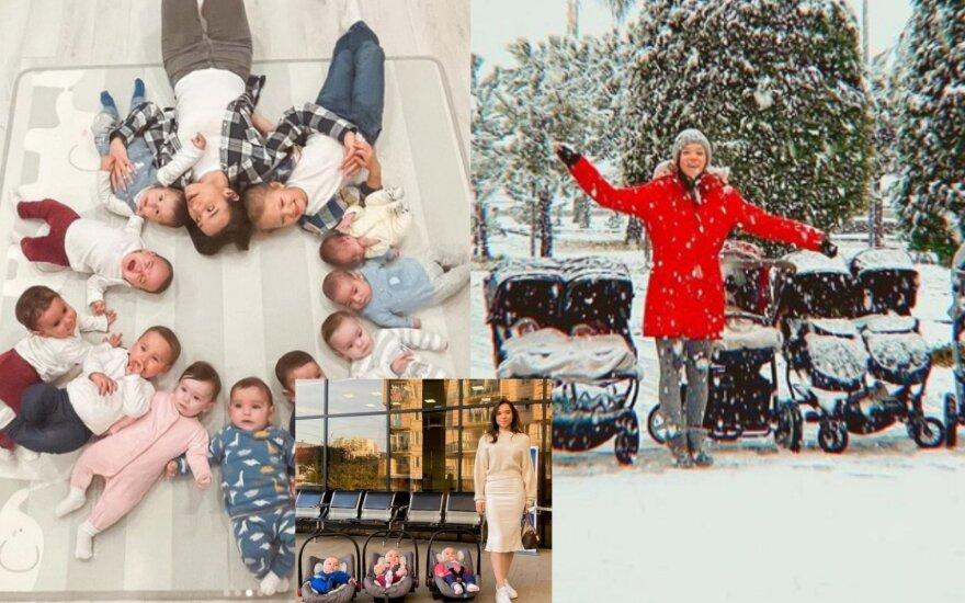 11 vaikų mama Kristina Ozturk
