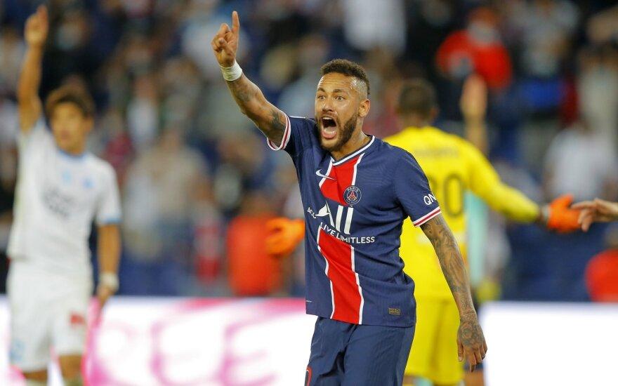 """PSG - """"Olympique"""" dvikova baigėsi muštynėmis"""