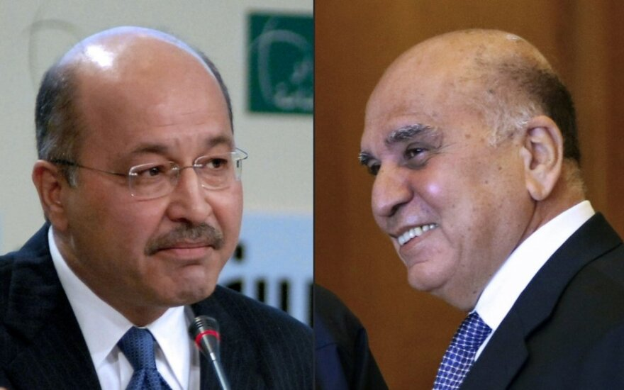 Barhamas Salehas ir Fuadas Husseinas