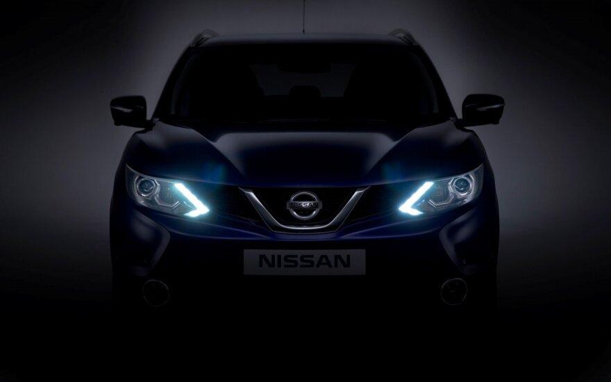 """Europoje pirmieji šią funkciją turės """"Nissan Qashqai"""""""