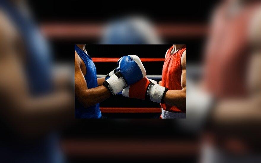 S.Vološinas - Europos jaunių bokso čempionato ketvirtfinalyje