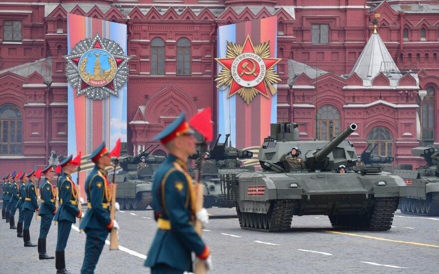 Amerikiečių analitikai įvertino Kremliaus ginkluotę gegužės 9-osios parade