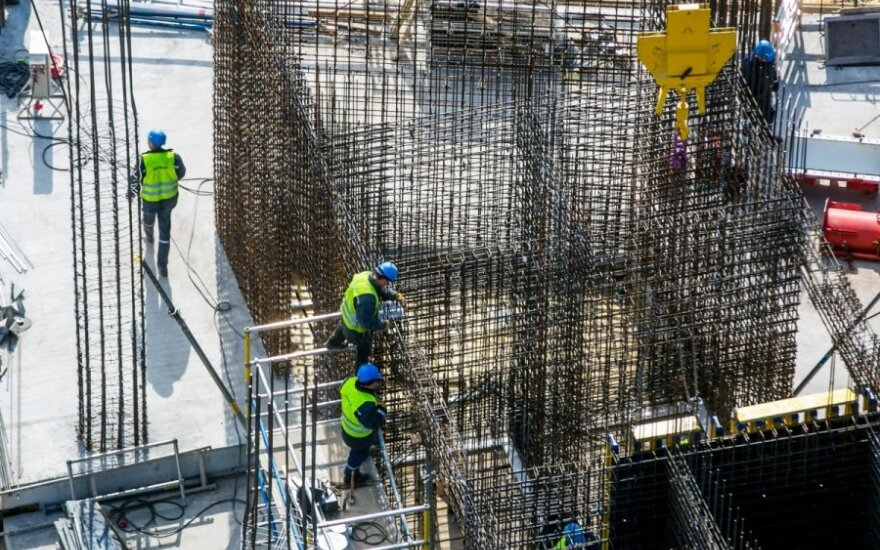 Volume of construction work in Lithuania up 16.8 percent