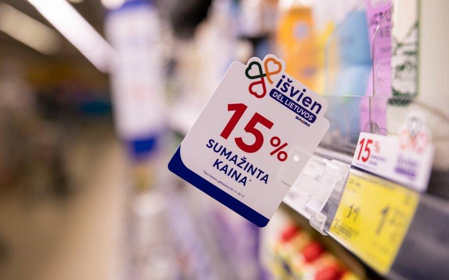 """""""Maxima"""" ir Lietuvos gamintojai mažina kainas"""