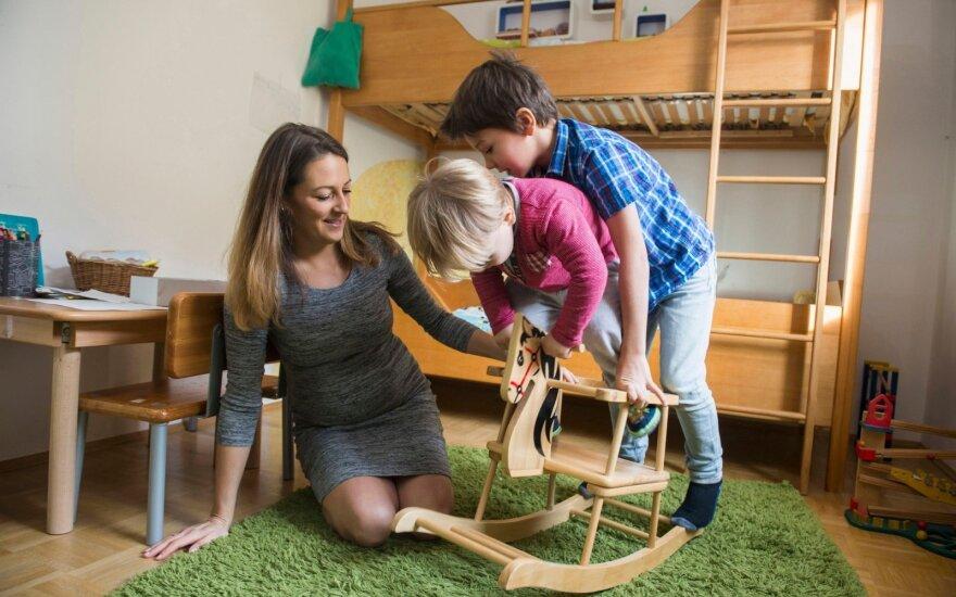 Tyrimas: vienas iš penkių vaikų neturi laiko žaisti