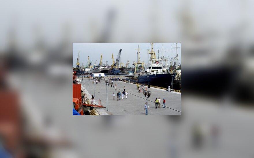 Kruizinių ir karo laivų krantinė