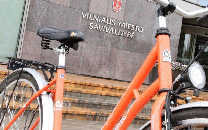 Į Vilnių grįžta oranžiniai dviračiai