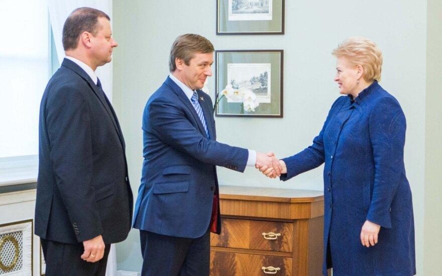 R. Karbauskis: dabar nelabai svarbu, kas bus antrasis koalicijos partneris