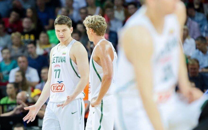D. Adomaitis turės ką analizuoti: permainingas antrasis testas Lietuvai atnešė nesėkmę