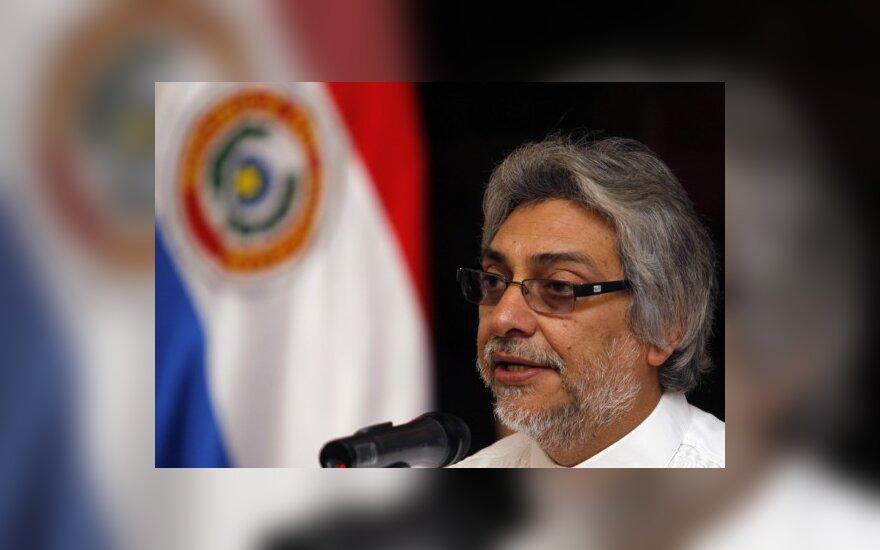 Paragvajaus prezidentas Fernandas Lugo.