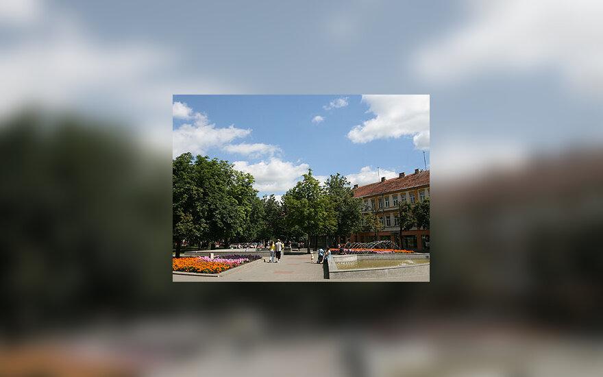 Laisvės aikštė Panevėžyje