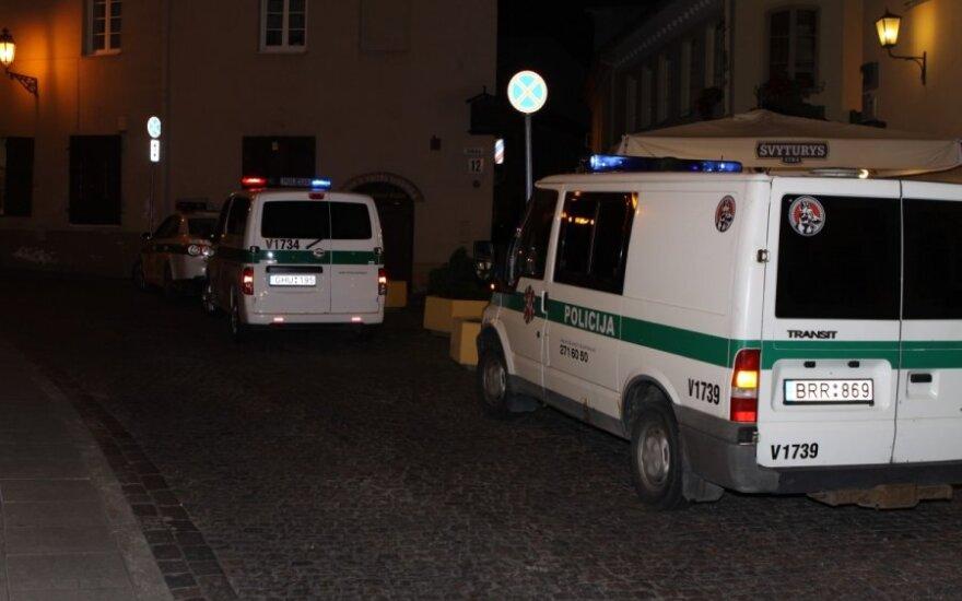 Vilniuje naktį sučiuptas girtas, įtariama, žmones gatvėje mušęs Darbo partijos kandidatas