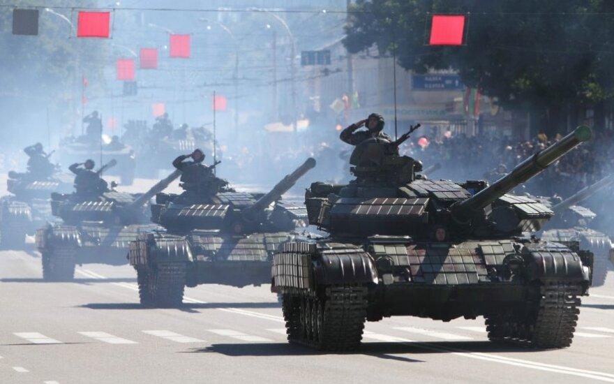 Padniestrės Moldovos Respublika – nepripažinta valstybė, oficialiai Moldavijos dalis prie Ukrainos sienos