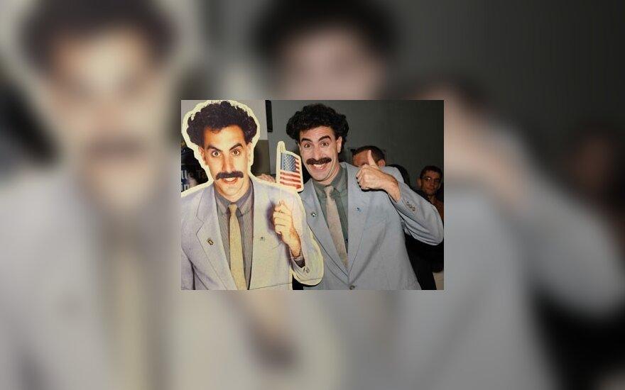 """Boratui neleis vesti """"Oskarų"""" įteikimo ceremonijos"""