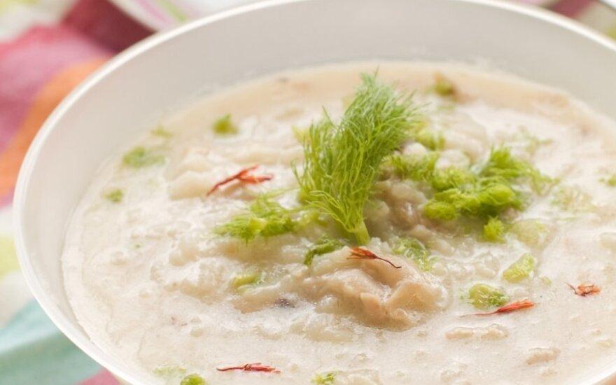 Sotu ir skanu: aštri daržovių sriuba su ryžiais