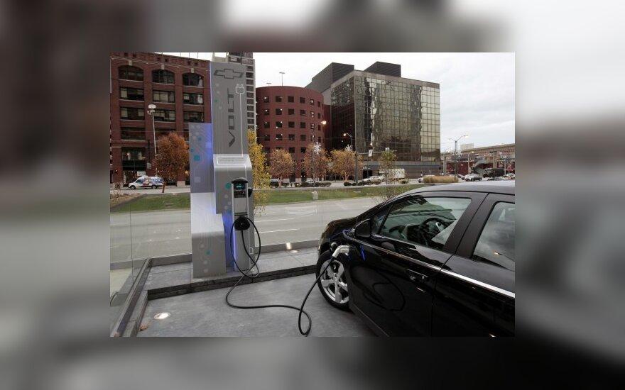 Niujorke bus siūloma išsinuomoti elektromobilį
