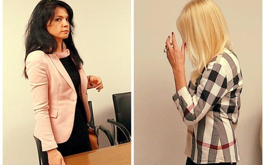Buvusi D. Bunkaus žmona nusprendė nesitaikstyti su drabstomu purvu