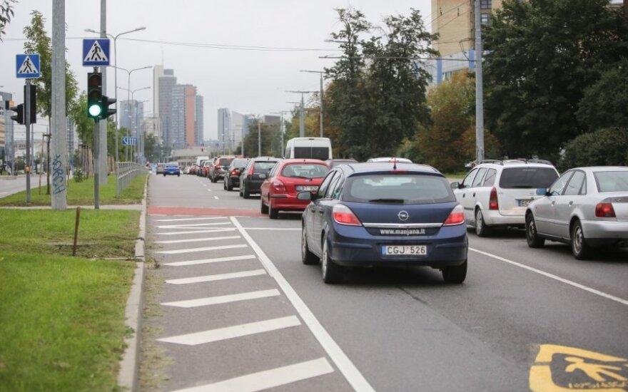 Eismas Vilniaus gatvėse