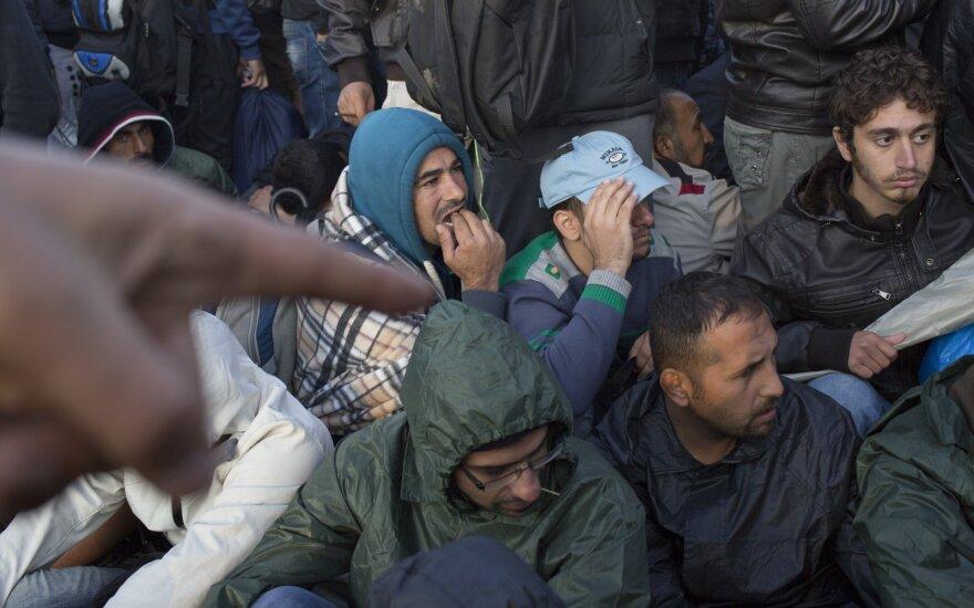 Tyrimas: lietuvių nuomonė apie pabėgėlius – radikali