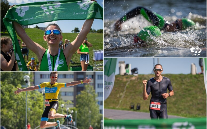 Lietuvos triatlono taurės etapas Jonavoje