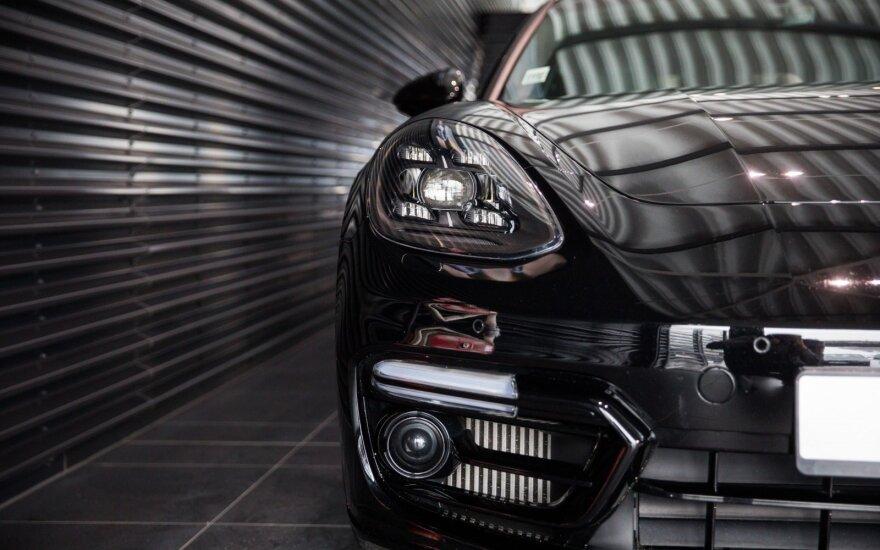Naujojo Porsche Panamera GTS pristatymas